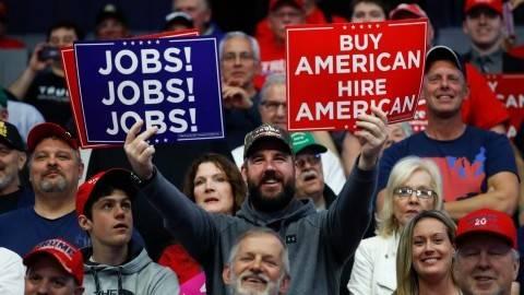 Trump, tariffs and jobs: Good news, but will it last?